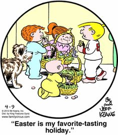 April 9, 2012 - Easter is my favorite-tasting holiday