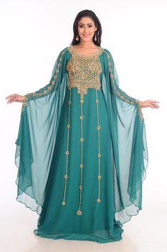 b234a67632 Moroccan Gown Abaya Dubai Fancy Kaftan Caftan Farasha Jilbab Jalabiya Dress  S01  Handmade  AllColor  Cocktail