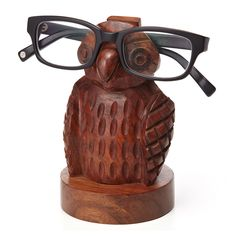 Owl Eyeglass Holder