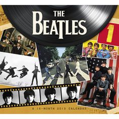 """The Beatles Wall Calendar: """"Ladies and Gentlemen, the Beatles!"""" The Beatles' legendary success hasn't missed a beat! Timeless and groundbreaking—no other band has come close to the success and enduring popularity of The Beatles. Fans can enjoy an entire year of more photos of the band!  http://www.calendars.com/Beatles/The-Beatles-2013-Wall-Calendar/prod201300000553/?categoryId=cat00083=cat00083"""