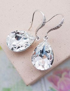 Wedding Jewelry Estate Style Earrings Bridal
