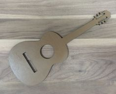 Unfinished Wood Laser Cut Acoustic Guitar, Ready to Paint, Music Room Decor, Various Sizes Guitar Decorations, Custom Metal, Unfinished Wood, Easy Home Decor, Acoustic Guitar, Laser Cutting, Wooden Toys, Etsy, Gifts For Her