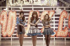 Seohyun, Tiffany, and Taeyeon of TTS (Girls& Generation subgroup) lookin& beyond beautiful & Sooyoung, Yoona, Snsd, South Korean Girls, Korean Girl Groups, Yuri, Girls' Generation Tts, Korean Star, Korean Music
