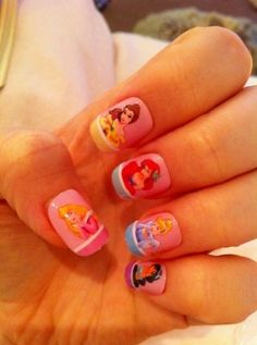 10 Cute Cartoon-Inspired Nail Art Ideas For The Kid In All Of Us: Girls in the Beauty Department