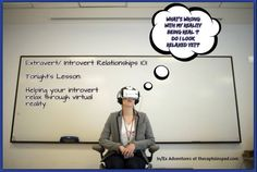 In/Ex Adventures #11- Relaxation Backfire!  What happens when an extrovert tries to help an introvert relax through virtual reality?  It's hilarious! #INFJ #ENFP #MBTI #introvert #extrovert #relationships #VirtualReality