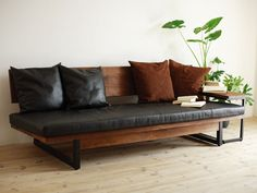 Leather, wood, suede, iron what's left ? Love it !!!