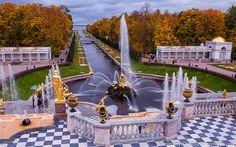 Autumn in Petergof