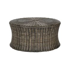 This low-profile rattan coffee table also doubles as an ottoman for extra seating. Its traditional design will complement any living space and its woven texture adds a natural richness to any room.  Find the Murad Rattan Coffee Table, as seen in the Lovely French Farmhouse Collection at http://dotandbo.com/collections/lovely-french-farmhouse?utm_source=pinterest&utm_medium=organic&db_sku=89480