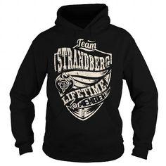 Awesome Tee Team STRANDBERG Lifetime Member (Dragon) - Last Name, Surname T-Shirt Shirts & Tees