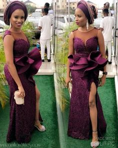 Latest 2018 Celebrity Ankara Styles For Ladies Nigerian Traditional Dresses, Nigerian Lace Styles, African Lace Styles, African Lace Dresses, Ankara Styles, African Attire, African Wear, African Fashion Skirts, Lace Dress Styles