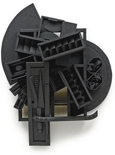Louise Nevelson, MIRROR SHADOW XI