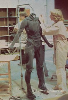 Stillsuits - Dune - Behind The Scenes