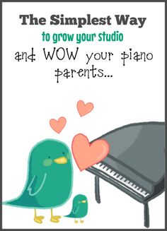 involve piano parents easily with this strategy that is simple yet effective! #PianoTeaching #PianoStudent