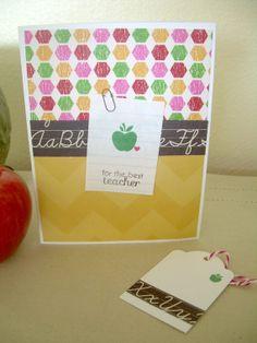 Bright Teacher Card