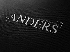 Logoentwicklung Restaurant ANDERS.