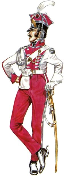 Granducato di Berg - Guard du Corps Chevau-Legers Officer 1808 Empire, Armor Clothing, Battle Of Waterloo, War Of 1812, Royal Guard, French Army, Napoleonic Wars, Modern Warfare, American Civil War