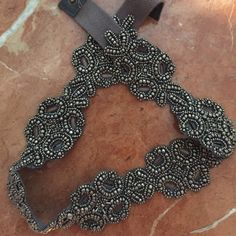 Anthropologie silver belt Worn once, in perfect condition. Anthropologie Accessories Belts