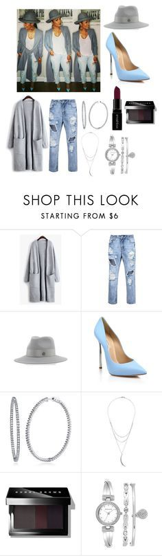 """""""Inspired by Rasheeda"""" by sequayah-chaney ❤ liked on Polyvore featuring MAISON MICHEL PARIS, Casadei, BERRICLE, Charlotte Russe, Smashbox, Bobbi Brown Cosmetics and Anne Klein"""