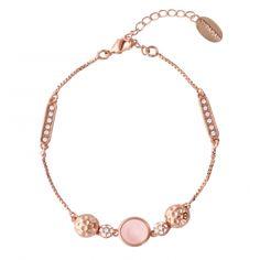 Latelita London Venice Bracelet Rose Gold Pink Tourmaline 0kyTxbE5f