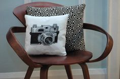 Vintage Camera Cross Stitch Pattern Instant di tinymodernist