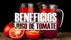 Beneficios del jugo de tomate_opt Mason Jars, Juice, Mugs, Tableware, Healthy Drinks, Meals, Apple Vinegar, Tomatoes, Mug