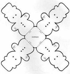 Risultato immagine per Free Printable Snowman Face Template Pattern Christmas Crafts For Kids, Christmas Printables, Christmas Art, Holiday Crafts, Christmas Holidays, Christmas Decorations, Christmas Ornaments, Diy And Crafts, Paper Crafts