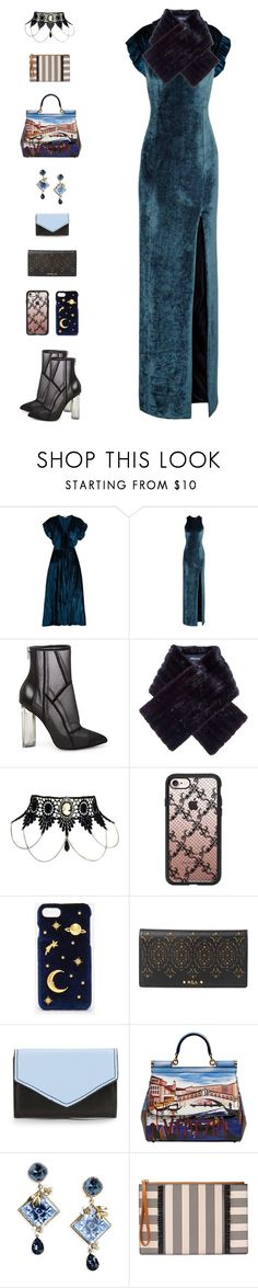 """""""Merida III"""" by sol4nge ❤ liked on Polyvore featuring MASSCOB, Galvan, Steve Madden, Pierre Balmain, Casetify, CHARLES & KEITH, Lauren Ralph Lauren, Saks Fifth Avenue, Dolce&Gabbana and FOSSIL"""