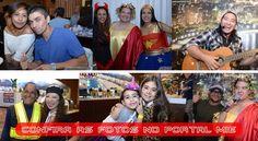 Evento contou com Concurso de Melhor Fantasia Infantil e Adulto além de vários sorteios de prêmios para o público presente.