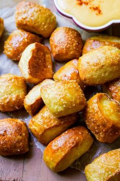 Chewy & soft pretzel bites are the ultimate comfort food and party snack. You won't be able to stop reaching for bite after bite!