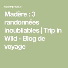 Madère : 3 randonnées inoubliables | Trip in Wild - Blog de voyage