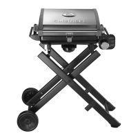 Barbecue Barbecue nomade à gaz bq400e - Cuisinart