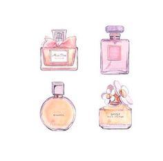 Perfume transparent