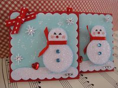 Snowman Embellishments | Flickr - Photo Sharing!