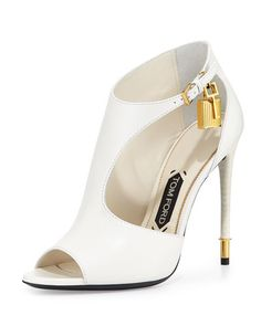 Tom Ford Cutout Bootie.  The most gorgeous white shoe I've ever seen