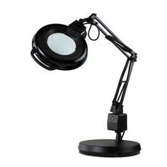 "Electrix 7125 BLK Magnifier Lamp, Fluorescent, Weighted Base Mounting, 3-Diopter, 30"" Reach, 22 Watt, 1,050 Raw Lumens Electrix http://www.amazon.com/dp/B0081KWRW0/ref=cm_sw_r_pi_dp_3CoQtb11040HRBK3"