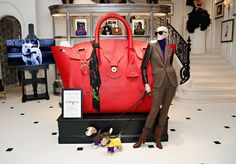 Our 888 Madison Avenue Store features a scene from The Dog Walk, a short film starring Fall 2013 Collection accessories and rescue dogs from the ASPCA
