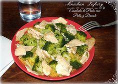 Recetas de una Gatita Enamorada: Ensalada de Pasta con Pollo y Brocoli (Dieta)