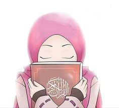 I love islam . Muslim Pictures, Islamic Pictures, Girl Cartoon, Cartoon Art, Lockscreen Hd, Hijab Drawing, Wallpaper Hp, Quran Book, Islamic Cartoon