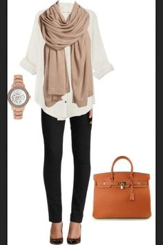Love the classic yet comfortable feel of this outfit!