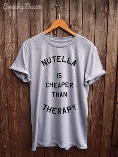 6e20092729c Nutella tshirt funny t-shirts funny nutella by SneakyBaconTees Pulls
