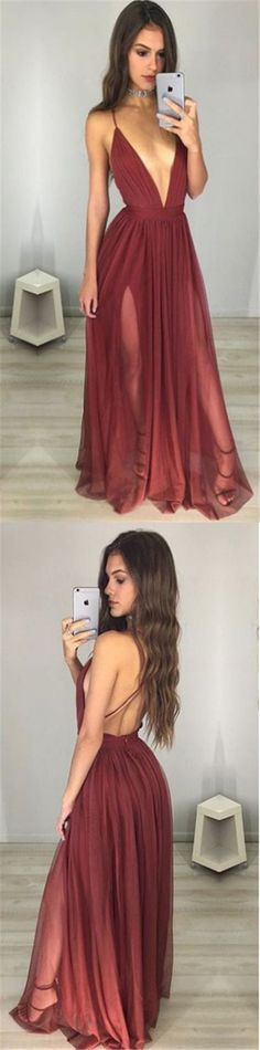 Prom dress maroon knit