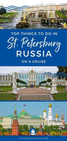 Are you visiting St. Petersburg and wondering what to do in this iconic city? We have our Top Things to Do in St. Petersburg, Russia on a Cruise guide. Cruise Europe, Packing For A Cruise, Cruise Travel, Cruise Vacation, Best Cruise, Cruise Port, Cruise Tips, Bermuda Vacations, Bahamas Vacation