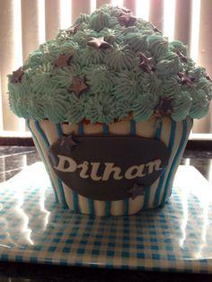 Grote cupcake.