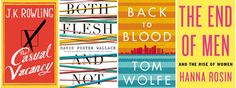 This season's reading list includes new fiction from J. Rowling and Emma Donoghue, posthumous collections by Christopher Hitchens and David Foster Wallace, and more. Good Books, Books To Read, David Foster Wallace, Fallen Book, Flesh And Blood, One Life, Book Title, Book Authors, Book Worms