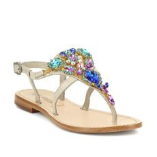 Les 34 sandales bijoux plates du Printemps-Été 2014