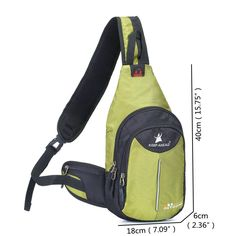 Nylon Sport Casual Sling Bag Chest Bag Crossbody Bag For Men Women is hot-sale, many other cheap crossbody bags on sale for men are provided on NewChic. Cheap Crossbody Bags, Key Chain Holder, Sport Casual, How To Get Money, Republic Of The Congo, St Kitts And Nevis, Bag Sale, Laos, Sling Backpack