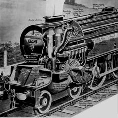 Chattanooga Choo Choo, Steam Turbine, Garden Railroad, Steam Boiler, Steam Railway, Railroad Photography, British Rail, Old Trains, Steam Engine