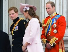 Prince Harry,  Duchess Kate and Prince William