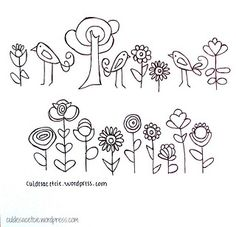 Free embroidery patterns! by CuldeSac