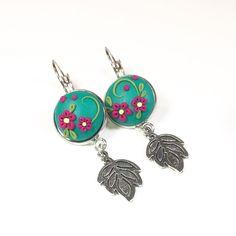 Polymer Clay Earrings, Belly Button Rings, Drop Earrings, Instagram, Jewelry, Fashion, Moda, Jewels, Fashion Styles